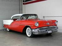 An example of a rare 1957 Oldsmobile Holiday Coupe