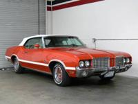 1972 Oldsmobile Cutlass Convertible, 350 V8 Automatic,