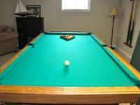 Pool table is in excellent condition all accessories