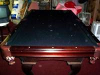 !This is a beautiful Olhausen Pool table and it also