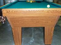 """Reduced again to $900."" Olhausen Pool Table, in"