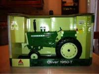 Oliver 1950-T toy tractor, collectible, 1/16 size model