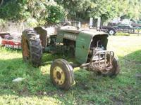 OLD OLIVER TRACTOR FIXER UPER RAN WHEN PARKED DOES NOT