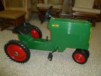 Oliver 70 pedal tractor for sale.  It is the Farm