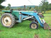 Gas, 6/2 spd, power steering, 660 allied loader,live
