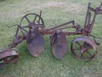 Oliver disc plow please call Paul at  Location: