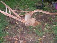 This is a very good old antique Oliver plow. One of the