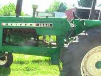 Oliver 1650, late 1950's, 100HP, 6 cylinder, excellent