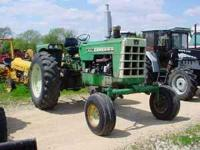I have a 90 horse Oliver tractor that I would like to