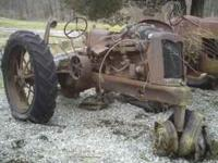 I am selling an Oliver 70 Hart-Parr tractor for parts.