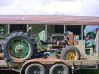Oliver Super 55 Tractor (gas model), These tractors