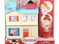 The Olivia 2 in 1 Real World Playset Dollhouse