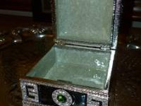 "Black Deco Box, Size: 3""L x 3""W x 2""H Original"