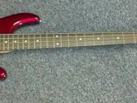 For sale I have a OLP (made by Ernie Ball) 4-string