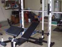 THIS CLUB WEIDER 550 SMITH MACHINE IS SO NICE AND SO