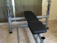 I have an Olympic weight bench available for sale,