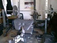 I have an older power home weight bench, 650lbs worth