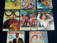 1984 Olympics Collection.  Sports Illustrated Magazines