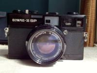 Olympus 35mm Rangefinder with well concerned F 1.7
