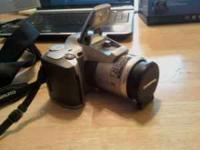 Olympus 35 mm slr camera in like new condition. Takes