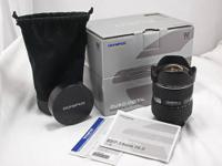 Olympus Super High Grade (SHG) Lenses: 7-14 mm f/4