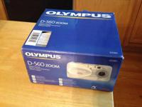 Olympus digital camera - 3x optical zoom.  Comes with