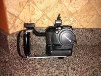 Olympus CAMEDIA digital cam large zoom bundle