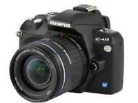 Olympus E-410 DSLR Camera with 2 lenses : Zuiko Digital