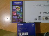 Brand brand-new Olumpus E-PM2 Mirrorless Digital