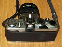 Very nice condition Olympus OM-1 camera kit Be advised,