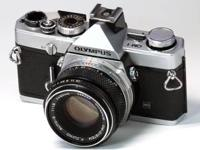 An Olypmus OM-1 N camera that is in great condition, it