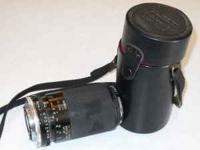 70-150 mm p/3.5, adaptall 2 , used with case, call ; ,