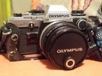 Exceptional condition Olympus OM10 with original case