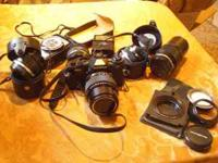 What a deal - An Olympus OM4 Camera and 5 Lenses PLUS a