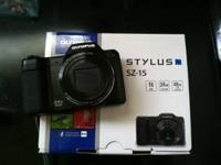 I am selling a barely used Olympus Stylus SZ-15 digital