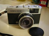 Olympus Trip 35 collectible film camera. Very nice