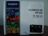 Olympus VR-320 point and shoot, 14MP, 12.5x optical