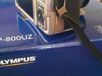 Olympus sp-800uz digital camera. Like new .14 mp 30x