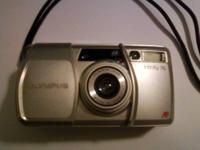 Olympus Infinity 76 Compact 35mm Film Camera Good