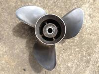 PROP OEM # 387519  Michigan wheel  Stainless prop 14