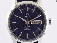 This Omega De Ville Hour Vision timepiece is one