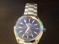 Never used Omega Seamaster. Retail rate $4200.00.
