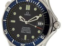 This Omega Seamaster Is In Mint Condition, The