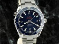 new, unworn, under warranty Omega Seamaster Planet