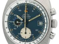 This Vintage Seamaster Chronograph Is iN Excellent
