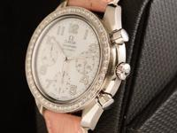 Exceedingly beautiful Omega Speedmaster Reduced with a