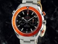 OMEGA SEAMASTER XL Planet Ocean Chrono ORANGE on