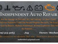 Need any automobile repair services kindly do not