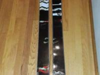 I am selling my new ON3P skis because they are too wish