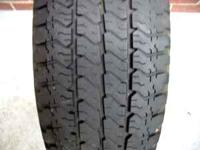 one 265/75r16 goodyear wrangler at/s tire 8/32 tread
